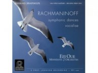 Rachmaninoff Symphonic Dances Vocalise Minnesota Eiji Oue Reference Recordings Vinyl