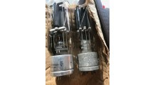 Matched Pair RCA Radiotron VT-4C 211 Tubes - %105 Emission