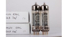 Valvo E80L - Gold Pin - One Pair Tubes