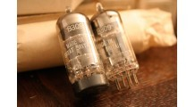 Mullard ECC81, 12AT7, CV455 D GETTER (HORSE HOE) SUPERB TUBES