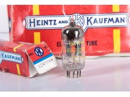 12AT7-WA / ECC81 - ECC801S - MATCHED PAIR - HEINTZ AND KAUFMAN - RCA