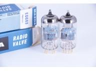 MAZDA 12AX7 - ECC83 - ECC803S Gold pin tubes,