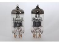 TESLA E83CC - FRAME GRID NOS TUBES - MATCHED PAIR - TELEFUNKEN ECC803S