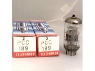 PCC189 = 7ES8 Telefunken Matched Pair
