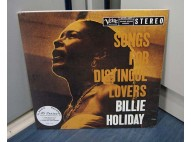Billie Holiday Songs For Distingué Lovers 45 RPM - 2 LP